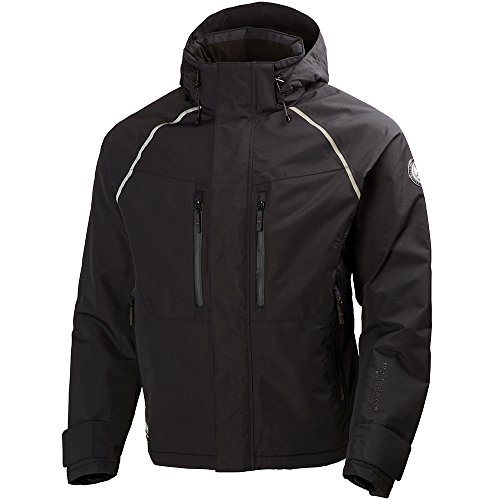 Helly Hansen Workwear Winterjacke Arctic Jacket wasserdichte, isolierte Arbeitsjacke 990, XXL, schwarz, 71335 -
