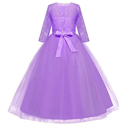 ... Bambino Ragazza Elegante Costume da Principessa Partito Compleanno  Bambini Vestito Carnevale Cosplay Abito da Cerimonia Bambina. Visualizza le  immagini bdb01780df2