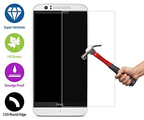 Screen Protector Htc 510 (ZeWoo Display Glas Panzerfolie für HTC Desire 510 Glasfolie Hartglas Schutzfolie 9H *2.5D, nur 0,33mm dünn)