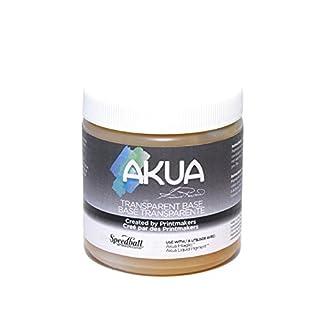 Akua Intaglio IITB Water Based Ink, Non-Toxic, 8 oz. Jar, Transparent Base, 2.7