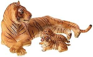 Papo- Figura Tigre Hembra acostada 11,6X12,5X5,8CM, (2050156)