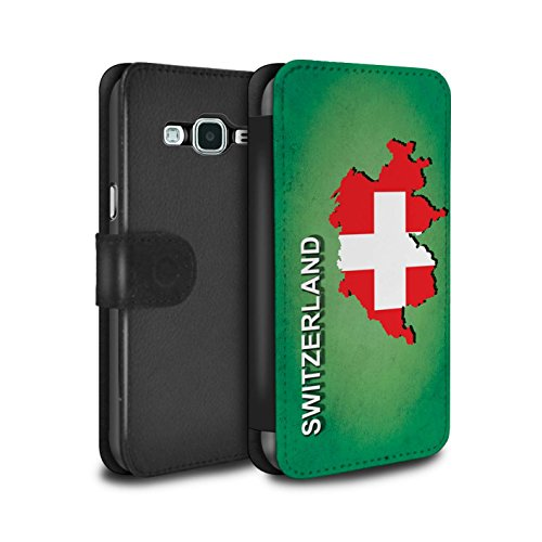 db864a351f Stuff4 Coque/Etui/Housse Cuir PU Case/Cover pour Samsung Galaxy J5 2016