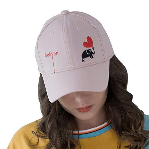 Produp Unisex Ponytail schmutzige Brötchen Trucker einfach Baseball Visier Cap Dad Hut würdevoll und großzügig Nizza und komfortable ()
