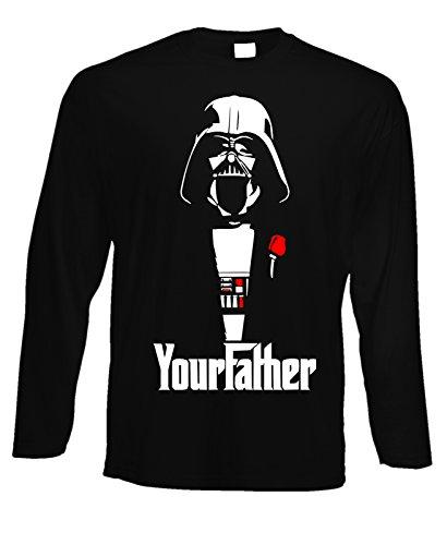 tshirt-a-maniche-lunghe-the-darth-father-darth-vader-star-wars-film-humor-in-cotone-by-fashwork