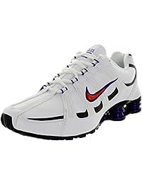 sale retailer 57216 af52d Nike Shox Turbo SL Chaussures de Course à Pied pour Homme Blanc TM Orng
