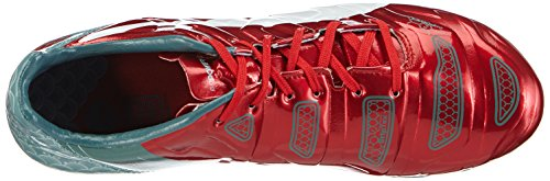 Puma Evopower 2.2 Graphic Fg, Chaussures de football homme Rouge - Rot (high risk red-white-sea pine 01)