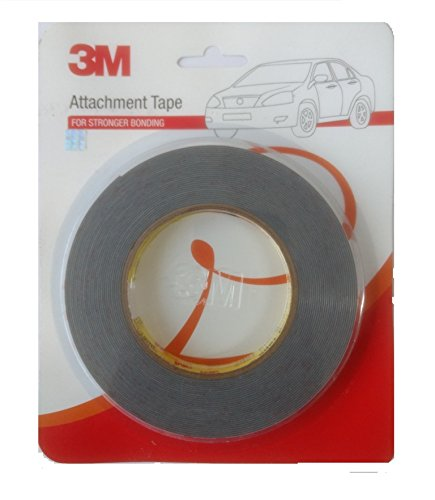 3M IA210135678 Acrylic Foam Tape (Grey with Red Liner)