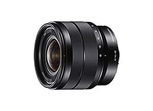 Sony SEL-1018 Ultra-Weitwinkel-Zoom-Objektiv (10-18 mm, F4, OSS, APS-C, geeignet für A6000, A5100, A5000 und Nex Serien, E-Mount) schwarz