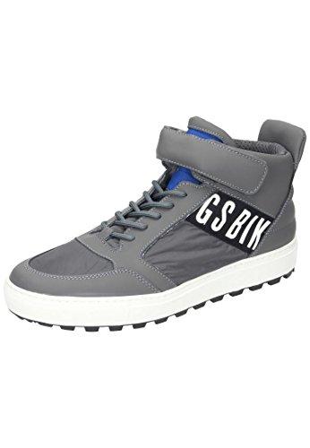 BIKKEMBERGS  Bikkembergs Herren Sneaker, Chaussures de ville à lacets pour homme gris gris Gris