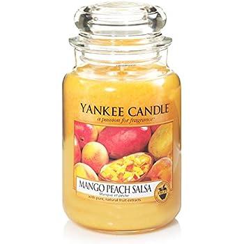Fruit Scent Yankee Candle Mango Peach Salsa Tea Light Candles