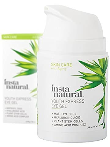 InstaNatural Eye Gel Cream - Wrinkle, Dark Circle, Fine Line
