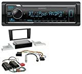 Kenwood KMM-BT305 MP3 AUX Bluetooth USB Autoradio für Audi A4 99-01 B5 Symphony Bose Aktivsystem