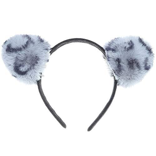 Anliyou Unisex Halloween Deko Kuscheltier Katzenohren Stirnband