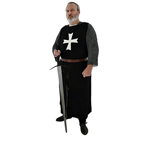 k aus handgewebten, schweren Leinen/Mittelalter Waffenrock/Johanniter Orden/Get Dressed for Battle ()
