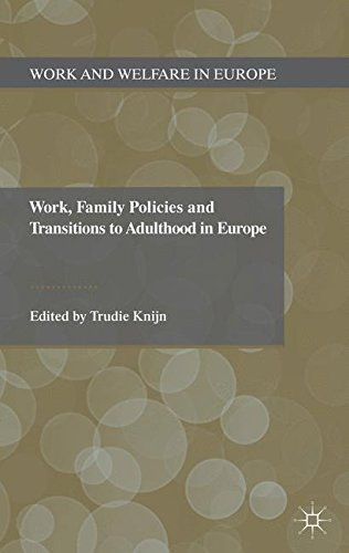 Work, Family Policies and Transitions to Adulthood in Europe (Work and Welfare in Europe)
