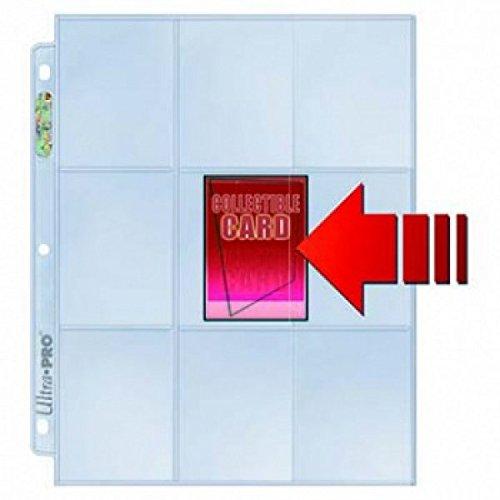 Ultra Pro 81359 - Pages Platinum 9-Pocket (10)