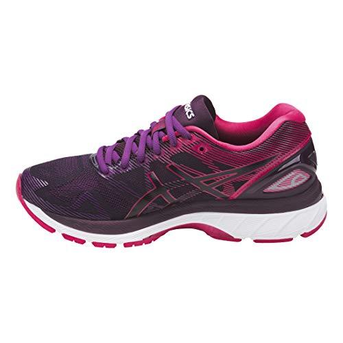 Asics Damen Gel-Nimbus 19 Laufschuhe Neutralschuh Schwarz - Pink 37