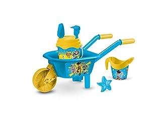 Mondo-28537 Toy Story - Carretilla de Playa, Color Verde y Azul, 28537
