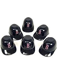 Rawlings ice cream & snack batting helmet (6)-pack de boston red sox