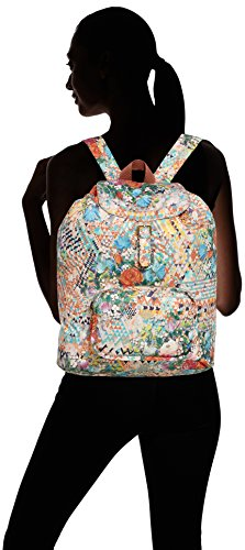 Oilily - Df Folding Classic Backpack, Borsa a zainetto Donna Multicolore (Blush 318)