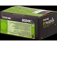 Lexmark 80C2HK0 Cartouche de Toner Laser pour Imprimante CX410/510 Noir