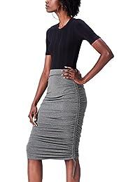 Amazon-Marke: find. Damen Rock Ruched Jersey Skirt
