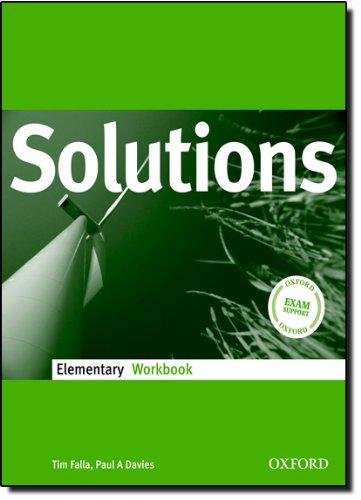 Solutions. Elementary. Workbook. Per le Scuole superiori
