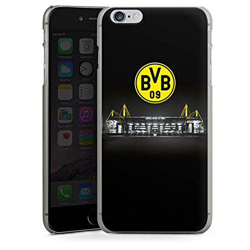 Apple iPhone 7 Hülle Case Handyhülle Borussia Dortmund BVB Stadion Hard Case anthrazit-klar