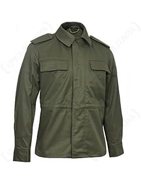 Ans Bdu Chaqueta táctica para hombre, diseño militar, estilo vintage
