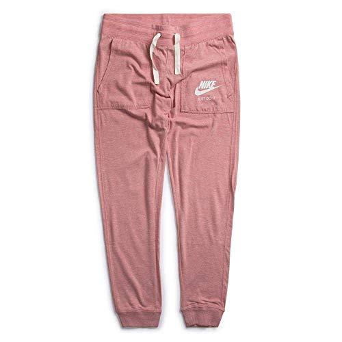 Nike Damen Gym Vintage Hose, Rust Pink/Sail, XS