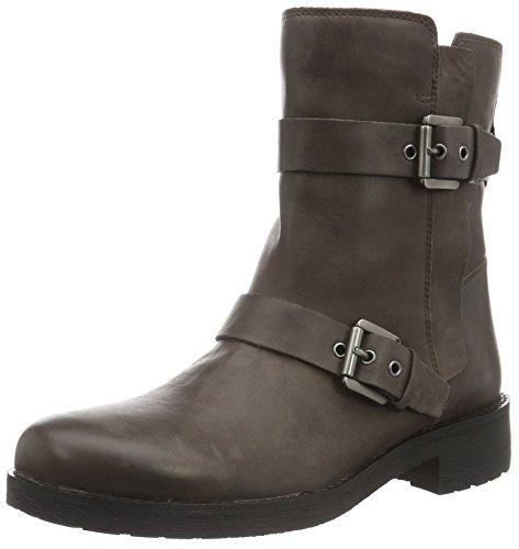 Geox Damen D New Virna E Biker Boots, Braun (CHESTNUTC6004), 39 EU