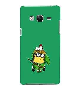 EPICCASE Minion and Hen Mobile Back Case Cover For Samsung Tizen Z3 (Designer Case)