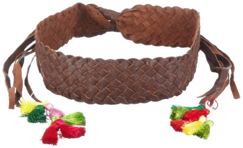 Antiguo Batik Mujer Cinturón, giny1Belt Marrón (Brown) 85
