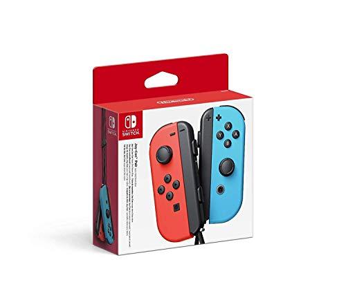 Nintendo Switch Paire de manettes Joy-Con - droite bleu néon/gauche rouge néon
