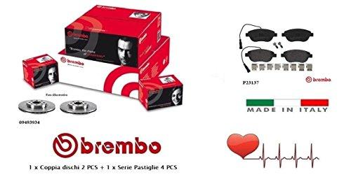 09493934-P23137 Kit Dischi e Pastiglie Freno Anteriori Brembo