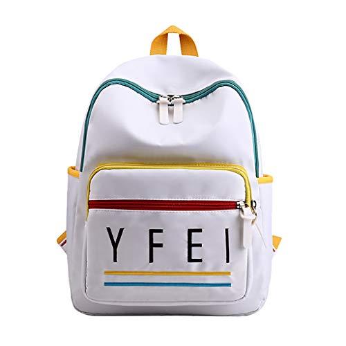 ypack Mädchen Jungen & Kinder Damen Herren Schulrucksack mit Laptopfach Notebook New ins Gymnasiast Rucksack Street Travel Großer Kapazität Brieftasche ()