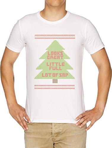 Weihnachten Urlaub Hässlich Sweatshirt Herren T-Shirt Weiß
