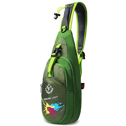 [pacchetto della cassa esterna]/Coppia spalla borsa sportiva/All aperto Equitazione pacchetti/Borsa sportiva per il tempo libero-Rosso verde