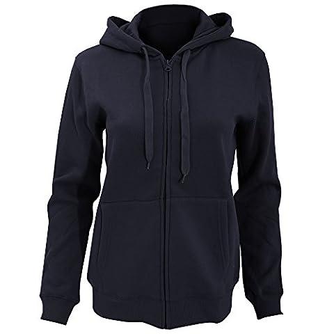 SOLS Womens/Ladies Seven Full Zip Hooded Sweatshirt / Hoodie (XL)