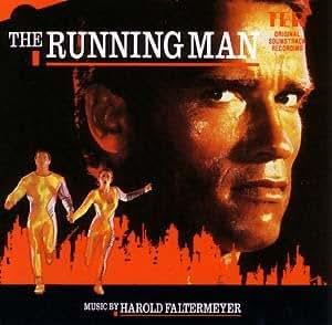 The Running Man Vinyl Lp 1987 Music By Harold Faltermeyer