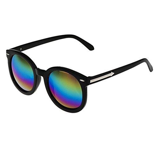 Alien Storehouse Reisen Black Rahmenfarbe Spiegel-Objektiv-Retro Brillen Tages Sonnenbrillen