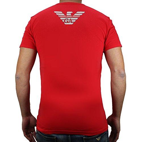 Emporio Armani Herren Unterhemd 1108106p725 Rot (ROSSO 00074)