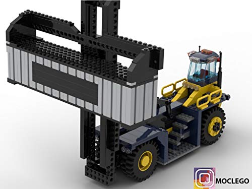 Taylor XEC-207 (Instruction Only): MOC LEGO (English Edition)
