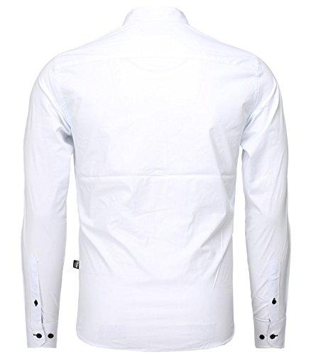 Carisma -  Camicia Casual  - Uomo Bianco