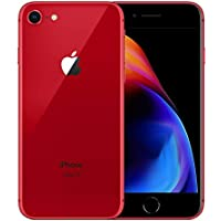 "Apple iPhone 8 - Smartphone (11,9 cm (4.7""), 1334 x 750 Pixeles, 64 GB, 12 MP, iOS 11, Rojo) (Reacondicionado)"