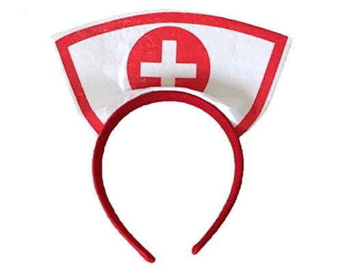 GIRM® - 7842 - Frontino da infermiera per costume di
