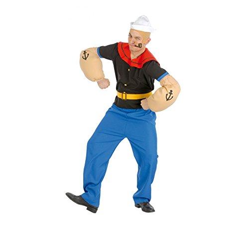 Popeye Paar Kostüm - Generique - Muskulöser Seemann Kostüm für Herren XL (54-56)