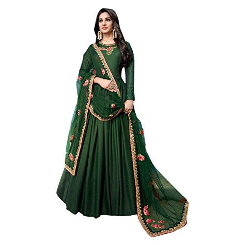Maßanfertigung Zeremonie Ethnischen Traditionellen Partei Tragen Trendige Anarkali Salwar Anzug Frauen Designer Kleid Zeremonie Kleid Material Party Tragen Indische Hochzeit Braut 2719 - Designer Braut Kleider