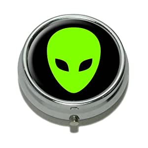 Alien Head Pill Case Trinket Gift Box