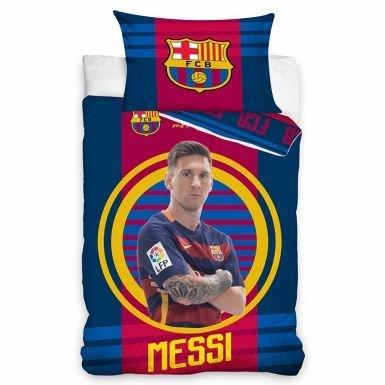 Lionel Messi & FC Barcelona set copripiumino singolo
